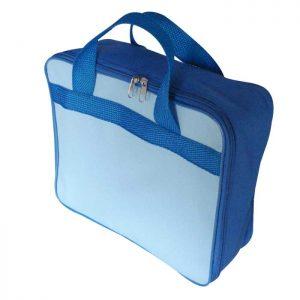 Bolsa tipo mala pequena feita em tecido 7fbaec3f54f4a